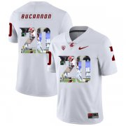Wholesale Cheap Washington State Cougars 20 Deone Bucannon White Fashion College Football Jersey