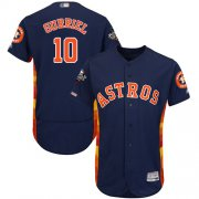 Wholesale Cheap Astros #10 Yuli Gurriel Navy Blue Flexbase Authentic Collection 2019 World Series Bound Stitched MLB Jersey