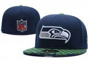 Wholesale Cheap Seattle Seahawks fitted hats 04