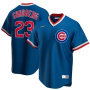 Wholesale Cheap Chicago Cubs #23 Ryne Sandberg Nike Road Cooperstown Collection Player MLB Jersey Royal