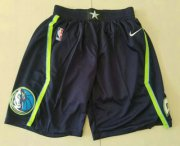Wholesale Cheap Men's Dallas Mavericks Blue 2020 Nike City Edition Swingman Shorts