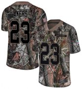 Wholesale Cheap Nike Rams #23 Cam Akers Camo Men's Stitched NFL Limited Rush Realtree Jersey