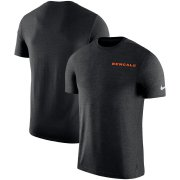 Wholesale Cheap Cincinnati Bengals Nike On-Field Coaches UV Performance T-Shirt Black