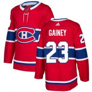 Wholesale Cheap Adidas Canadiens #23 Bob Gainey Red Home Authentic Stitched NHL Jersey