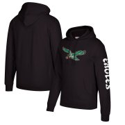 Wholesale Cheap Philadelphia Eagles Mitchell & Ness Classic Team Pullover Hoodie Black