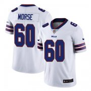 Wholesale Cheap Men's Buffalo Bills #60 Mitch Morse Stitched Vapor Untouchable Limited White Jersey