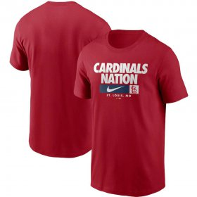 Wholesale Cheap St. Louis Cardinals Nike Local Nickname T-Shirt Red