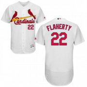 Wholesale Cheap Cardinals #22 Jack Flaherty White Flexbase Authentic Collection Stitched MLB Jersey