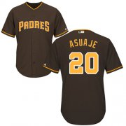 Wholesale Cheap Padres #20 Carlos Asuaje Brown New Cool Base Stitched MLB Jersey