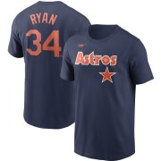 Wholesale Cheap Houston Astros Nike Cooperstown Collection Name & Number T-Shirt Navy