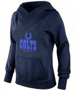Wholesale Cheap Women's Indianapolis Colts Big & Tall Critical Victory Pullover Hoodie Navy Blue