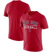 Wholesale Cheap Boston Red Sox Nike Practice Performance T-Shirt Red