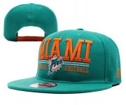 Wholesale Cheap Miami Dolphins Snapbacks YD018