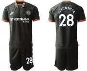 Wholesale Cheap Chelsea #28 Azpilicueta Third Soccer Club Jersey