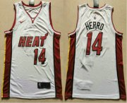 Wholesale Cheap Men's Miami Heat #14 Tyler Herro White 2019 Nike Swingman Stitched NBA Jersey