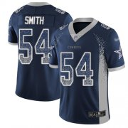 Wholesale Cheap Nike Cowboys #54 Jaylon Smith Navy Blue Team Color Men's Stitched NFL Limited Rush Drift Fashion Jersey
