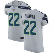 Wholesale Cheap Nike Seahawks #22 Quinton Dunbar Grey Alternate Men's Stitched NFL New Elite Jersey