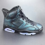 Wholesale Cheap Womens Jordan 6 Chameleon Black/Green