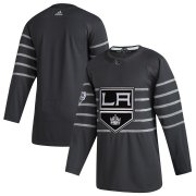 Wholesale Cheap Men's Los Angeles Kings Adidas Gray 2020 NHL All-Star Game Authentic Jersey
