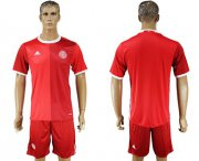 Wholesale Cheap Danmark Blank Red Home Soccer Country Jersey