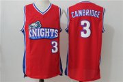 Wholesale Cheap Los Angeles 3 Calvin Cambridge Red Stitched Movie Jersey