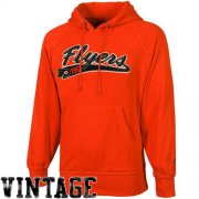 Wholesale Cheap Old Time Hockey Philadelphia Flyers Hudson Pullover Hoodie Orange