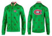 Wholesale NHL Montreal Canadiens Zip Jackets Green-2