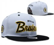 Wholesale Cheap Boston Bruins Snapbacks YD002