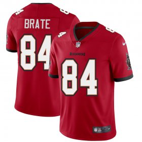 Wholesale Cheap Tampa Bay Buccaneers #84 Cameron Brate Men\'s Nike Red Vapor Limited Jersey