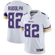 Wholesale Cheap Nike Vikings #82 Kyle Rudolph White Youth Stitched NFL Vapor Untouchable Limited Jersey