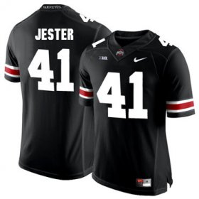 Wholesale Cheap Ohio State Buckeyes 41 Hayden Jester Black College Football Jersey