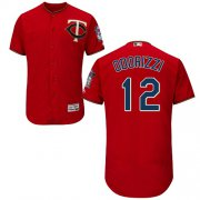 Wholesale Cheap Twins #12 Jake Odorizzi Red Flexbase Authentic Collection Stitched MLB Jersey