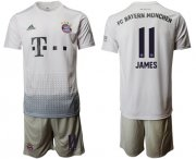 Wholesale Cheap Bayern Munchen #11 James Away Soccer Club Jersey