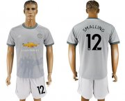 Wholesale Cheap Manchester United #12 Smalling Sec Away Soccer Club Jersey