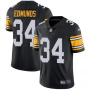 Wholesale Cheap Nike Steelers #34 Terrell Edmunds Black Alternate Men's Stitched NFL Vapor Untouchable Limited Jersey