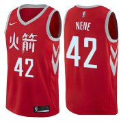 Wholesale Cheap Houston Rockets #42 Nene Red Nike NBA Men's Stitched Swingman Jersey City Edition