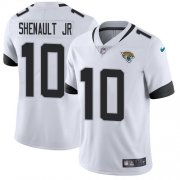 Wholesale Cheap Nike Jaguars #10 Laviska Shenault Jr. White Men's Stitched NFL Vapor Untouchable Limited Jersey