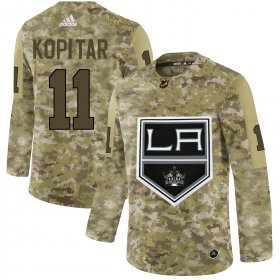 Wholesale Cheap Adidas Kings #11 Anze Kopitar Camo Authentic Stitched NHL Jersey
