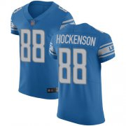 Wholesale Cheap Nike Lions #88 T.J. Hockenson Blue Team Color Men's Stitched NFL Vapor Untouchable Elite Jersey