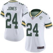 Wholesale Cheap Nike Packers #24 Josh Jones White Women's 100th Season Stitched NFL Vapor Untouchable Limited Jersey
