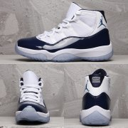 Wholesale Cheap Air Jordan 11 Retro Win Like '82 Shoes Navy Blue/White