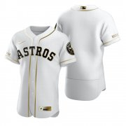Wholesale Cheap Houston Astros Blank White Nike Men's Authentic Golden Edition MLB Jersey