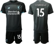 Wholesale Cheap Liverpool #15 Sturridge Third Soccer Club Jersey