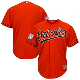 Wholesale Cheap Orioles Blank Orange 2019 Spring Training Cool Base Stitched MLB Jersey