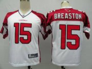 Wholesale Cheap Cardinals #15 Steve Breaston White Stitched NFL Jersey