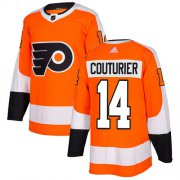 Wholesale Cheap Adidas Flyers #14 Sean Couturier Orange Home Authentic Stitched Youth NHL Jersey