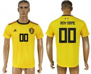 Wholesale Cheap Belgium Personalized Away Soccer Country Jersey