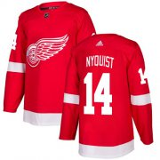 Wholesale Cheap Adidas Red Wings #14 Gustav Nyquist Red Home Authentic Stitched Youth NHL Jersey