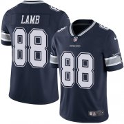 Wholesale Cheap Nike Cowboys #88 CeeDee Lamb Navy Blue Team Color Men's Stitched NFL Vapor Untouchable Limited Jersey