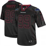 Wholesale Cheap Nike Texans #99 J.J. Watt Lights Out Black Youth Stitched NFL Elite Jersey